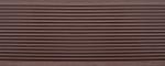 Террасная доска Darvolex шовная Коричневый